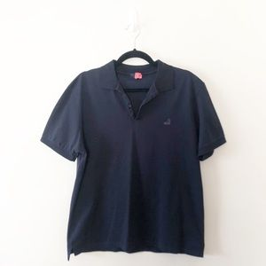Lanvin Sneaker Logo Polo Shirt Ribbon Shoulder